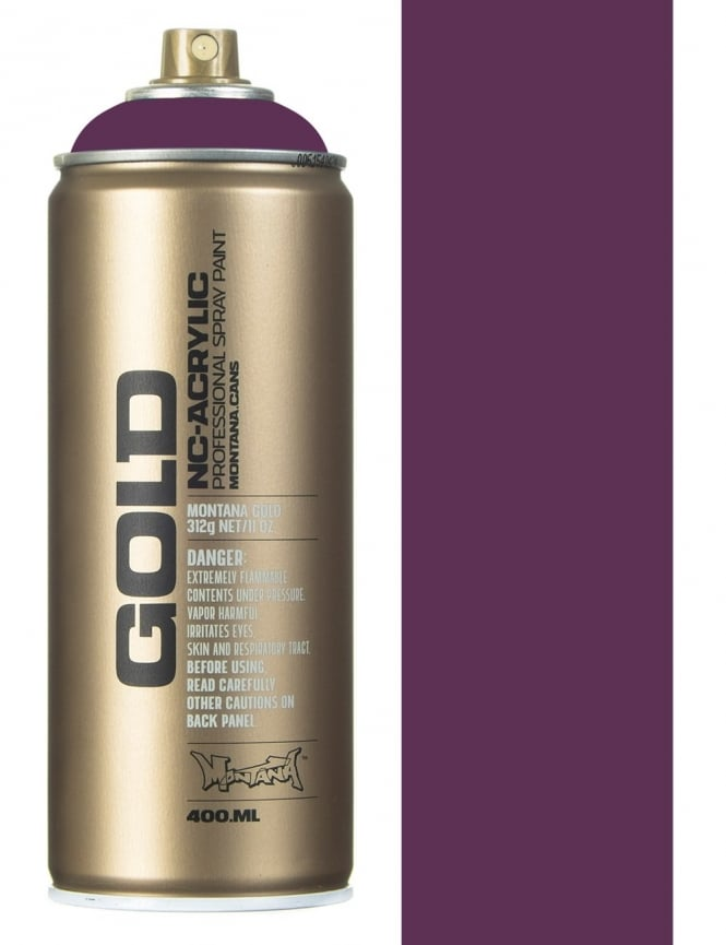 Montana Gold Deep Purple Spray Paint - 400ml
