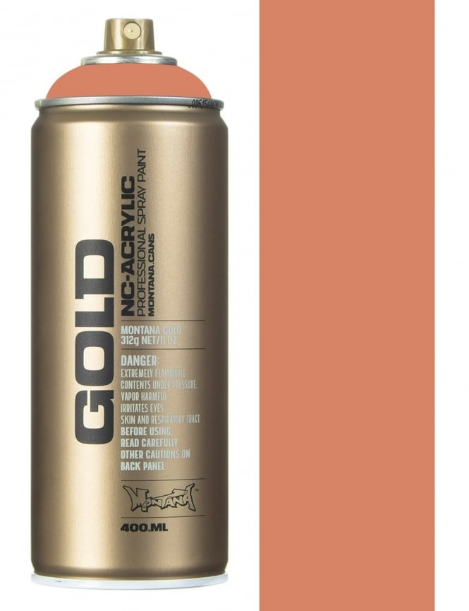 Montana Gold Dirty Apricot Spray Paint - 400ml