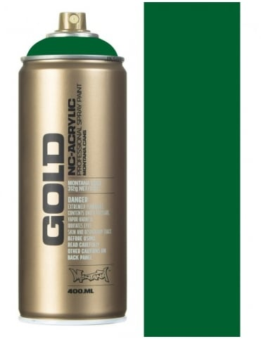 Montana Gold Fern Green Spray Paint - 400ml