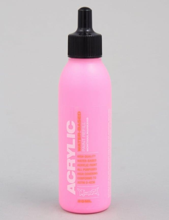 Montana Gold Fluoro Gleaming Pink - 25ml Paint Refill