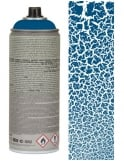 Montana Gold Gentian Blue Crackle Effect Spray Paint - 400ml