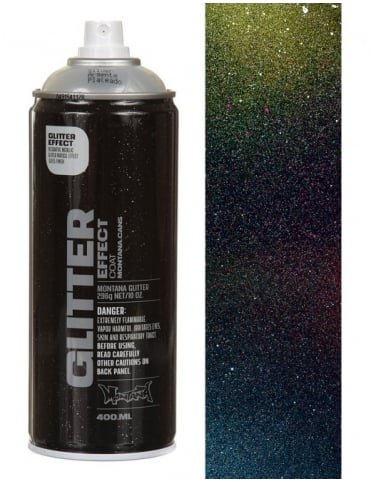 Montana Gold Glitter Effect Spray Paint - 400ml