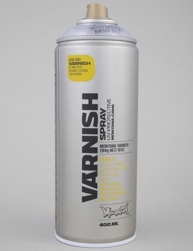 Montana Gold Gloss Varnish Spray Can - 400ml