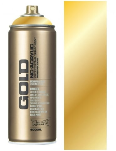 Montana Gold Gold Chrome Spray Paint - 400ml
