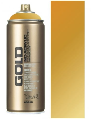 Montana Gold Gold Matt Spray Paint - 400ml