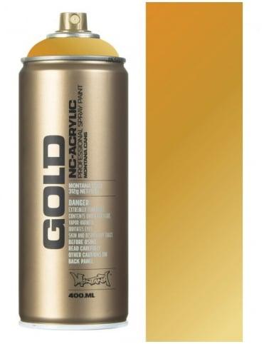 Montana Gold Gold Matt Spray Paint - 400ml