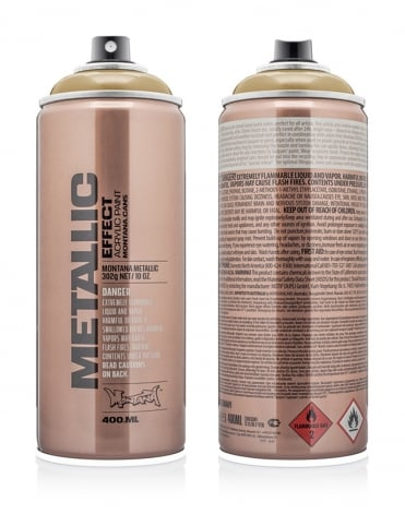Gold Metallic Effect Spray Paint - 400ml