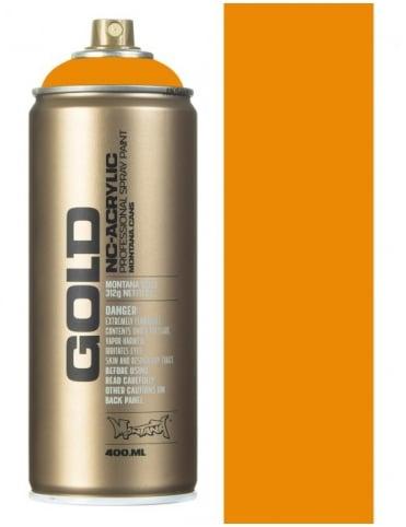Montana Gold Golden Yellow Spray Paint - 400ml