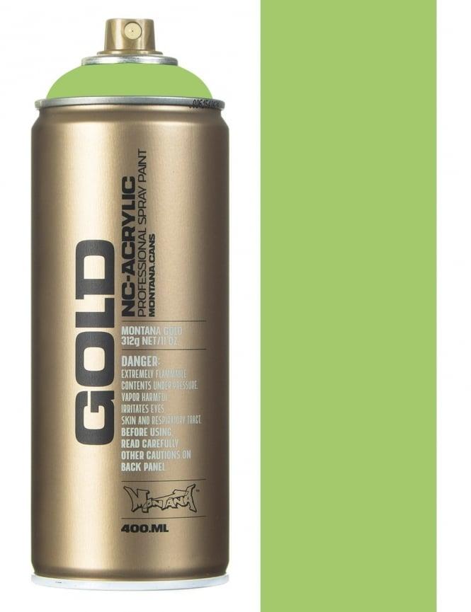 Montana Gold Green Apple Spray Paint - 400ml