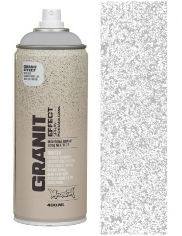 Montana Gold Grey Granite Effect Spray Paint - 400ml