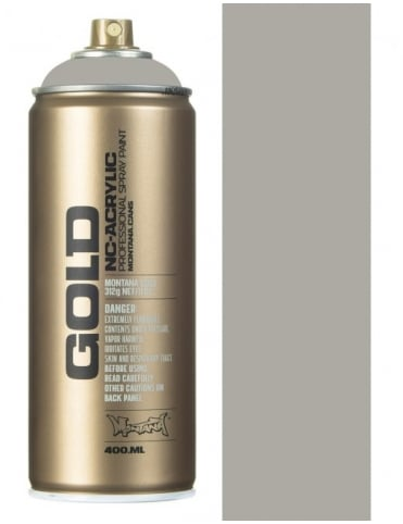 Montana Gold Iron Curtain Spray Paint - 400ml