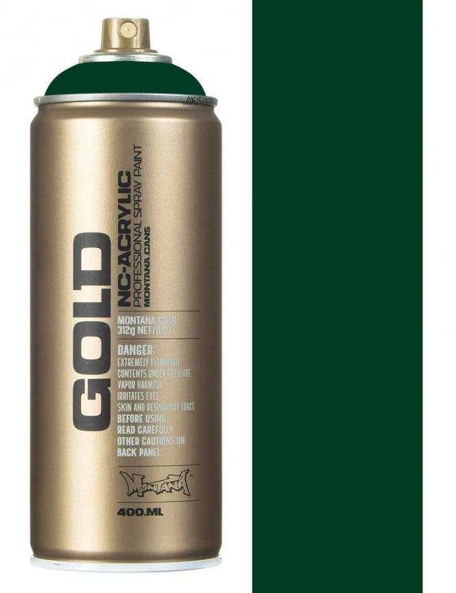 Montana Gold Jungle Green Spray Paint - 400ml
