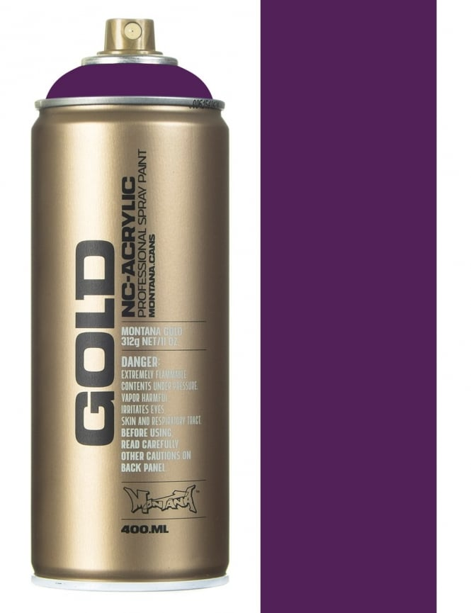 Montana Gold Lakers Spray Paint - 400ml