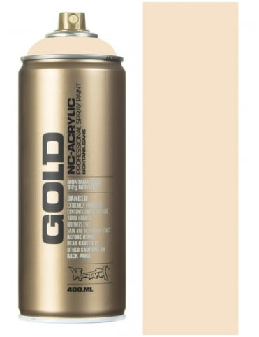 Montana Gold Latte Spray Paint - 400ml