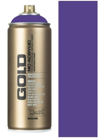 Montana Gold Lavender  Spray Paint - 400ml