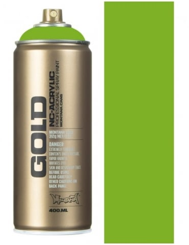 Montana Gold Lawn Green Spray Paint - 400ml