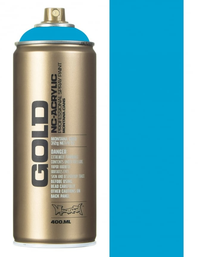 Montana Gold Light Blue Spray Paint - 400ml