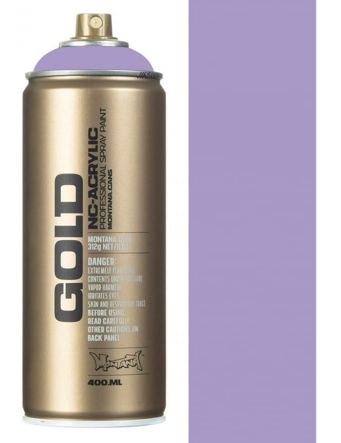 Montana Gold Light Lilac Spray Paint - 400ml