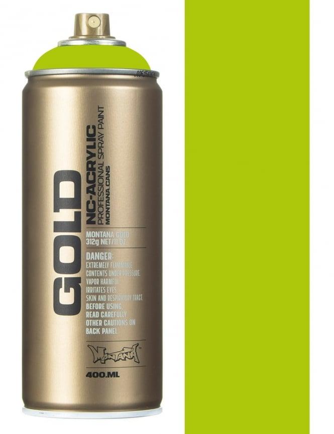 Montana Gold Lime Spray Paint - 400ml