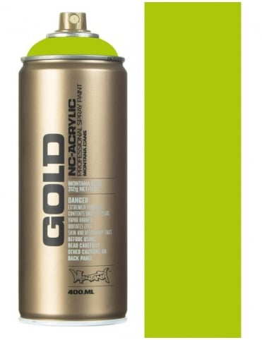 Montana Gold Lime Spray Paint - 400ml