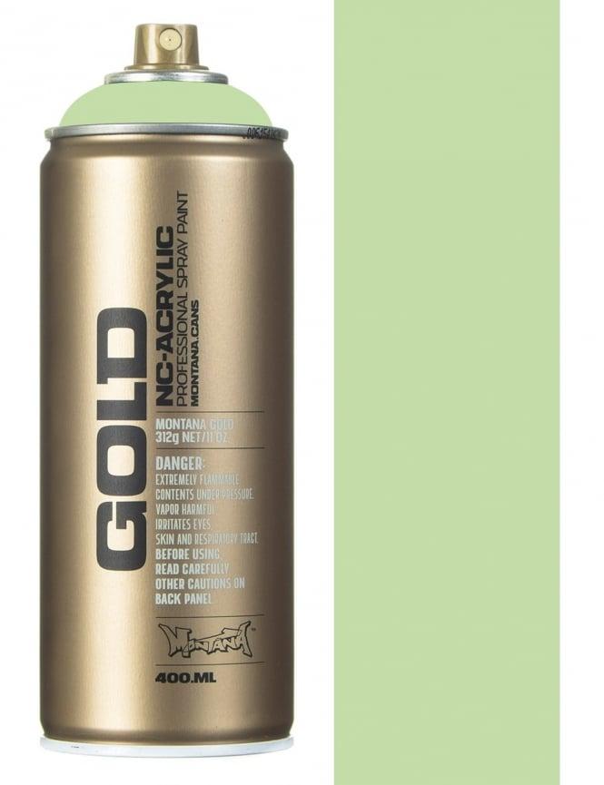 Montana Gold Linden Green Spray Paint - 400ml