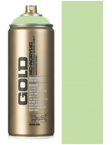 Montana Gold Linden Green Spray Paint - 400ml