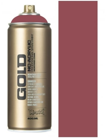 Montana Gold Lip Spray Paint - 400ml