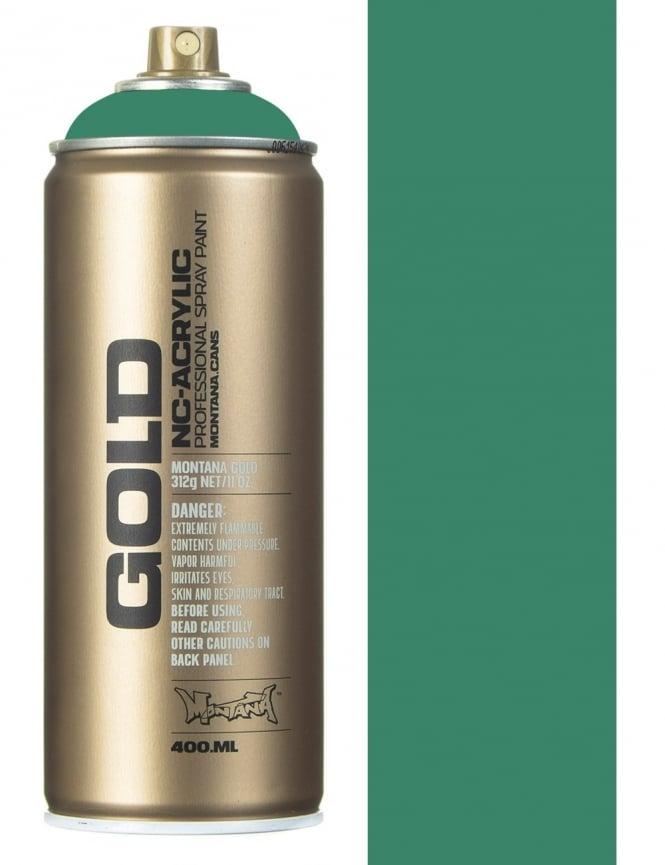 Montana Gold Malachite Dark Spray Paint - 400ml