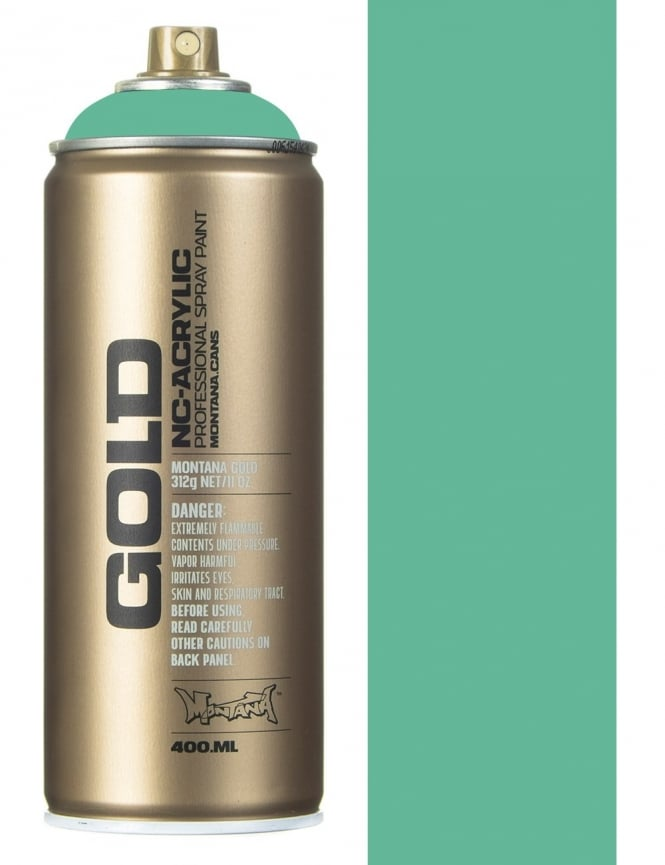 Montana Gold Malachite Spray Paint - 400ml