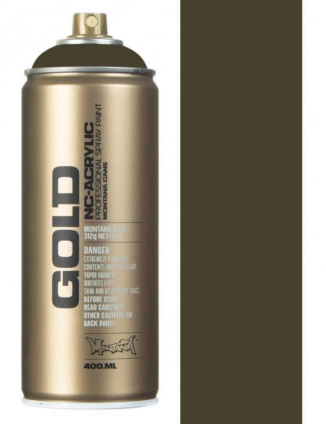 Montana Gold Manila Dark Spray Paint - 400ml