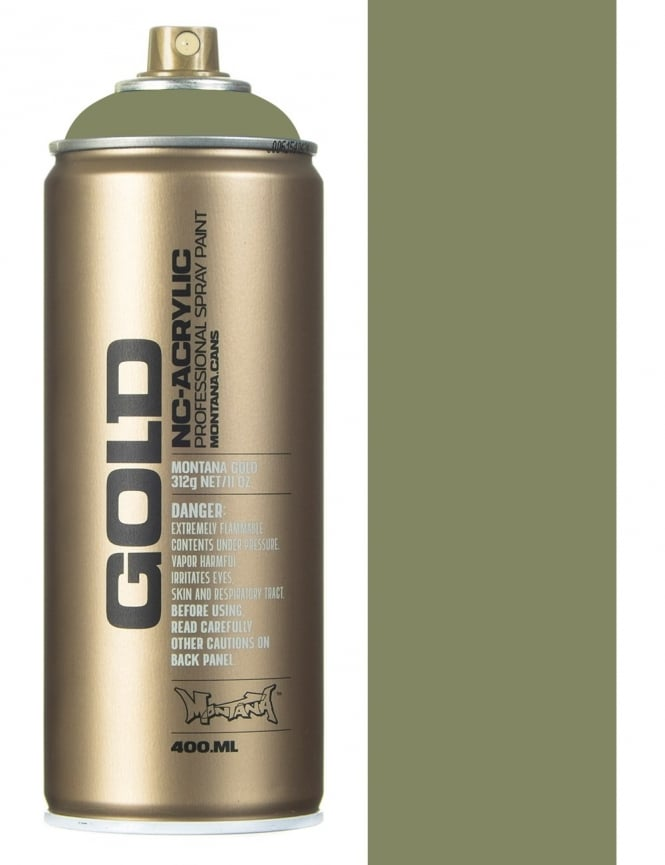 Montana Gold Manila Green Spray Paint - 400ml