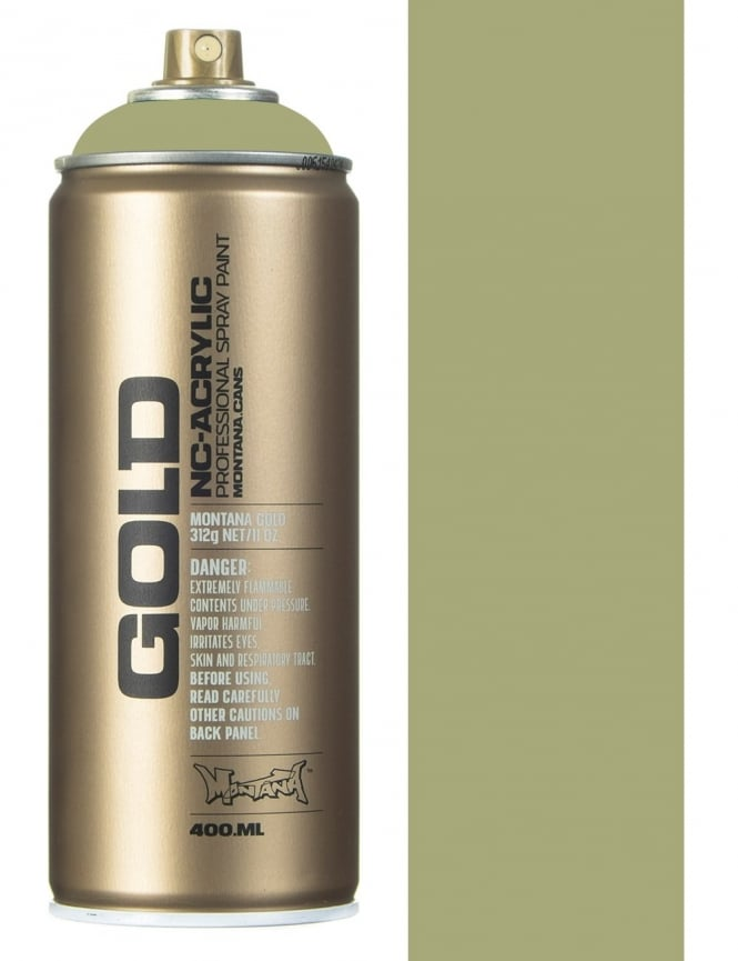 Montana Gold Manila Light Spray Paint - 400ml