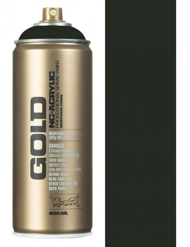 Montana Gold Military Green Spray Paint - 400ml