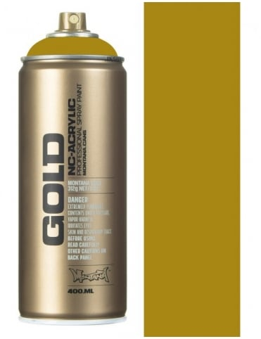 Montana Gold Mustard Spray Paint - 400ml