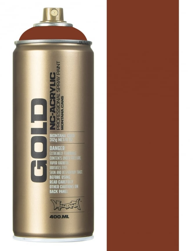Montana Gold Orange Brown Spray Paint - 400ml