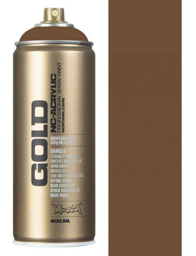 Montana Gold Palish Brown Spray Paint - 400ml