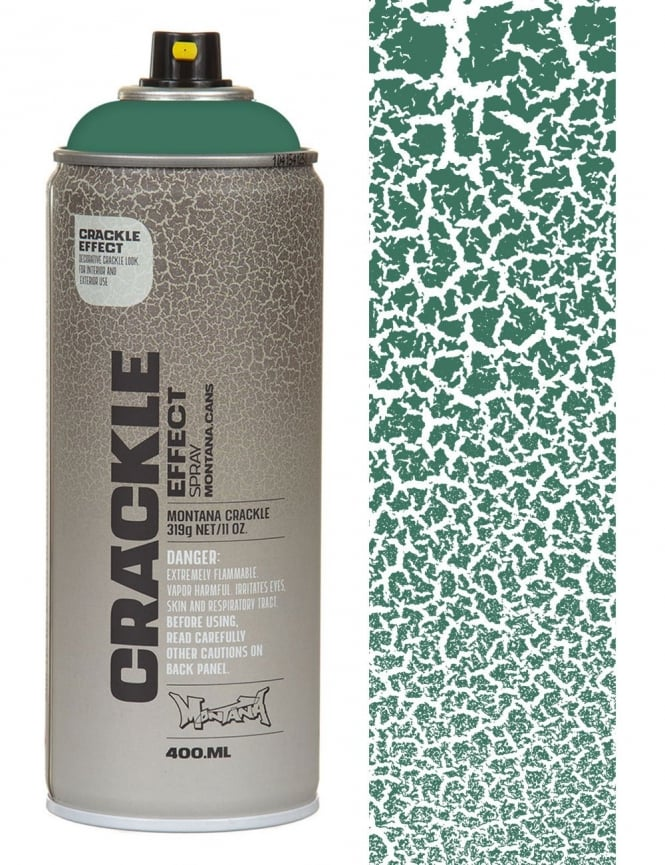 Montana Gold Patina Green Crackle Effect Spray Paint - 400ml