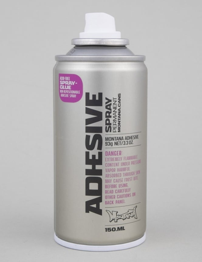 Montana Gold Permanent Adhesive Spray Can - 150ml