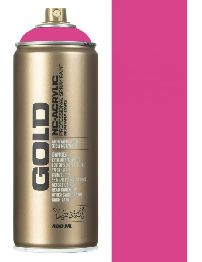 Montana Gold Pink Pink Spray Paint - 400ml