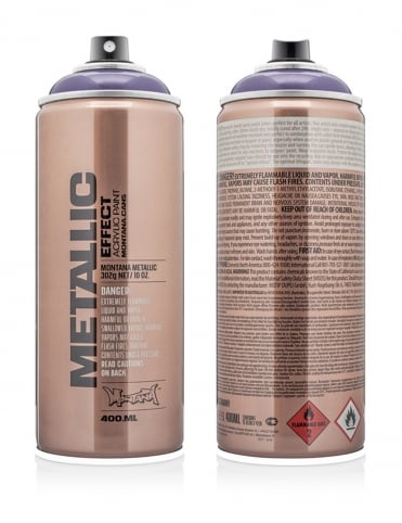 Plum Metallic Effect Spray Paint - 400ml