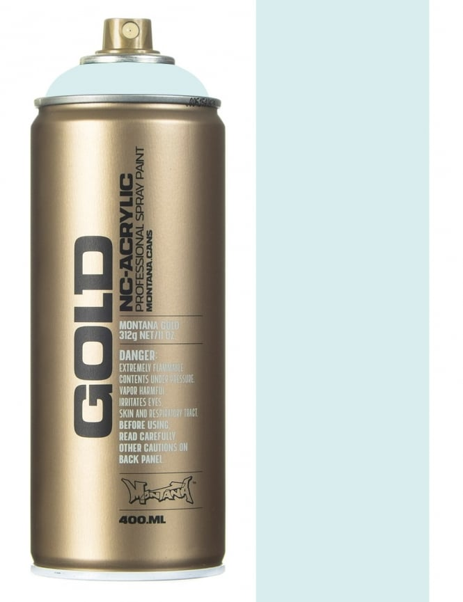 Montana Gold Polar Blue Spray Paint - 400ml