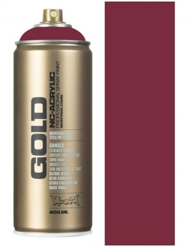 Montana Gold Powder Pink Spray Paint - 400ml