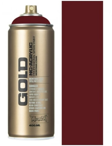 Montana Gold Purple Red Spray Paint - 400ml