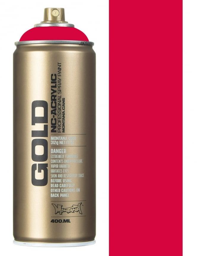 Montana Gold Raspberry Spray Paint - 400ml