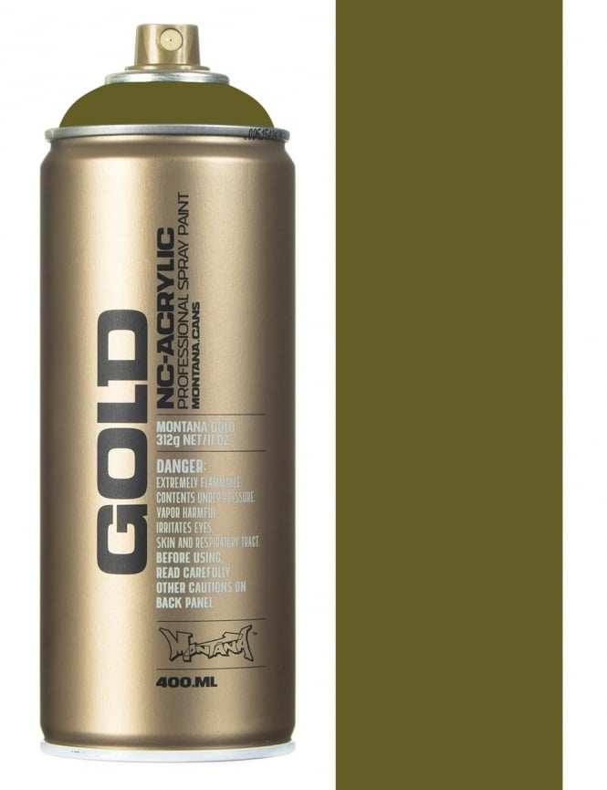 Montana Gold Reed Spray Paint - 400ml