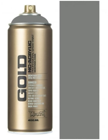 Montana Gold Roof Spray Paint - 400ml