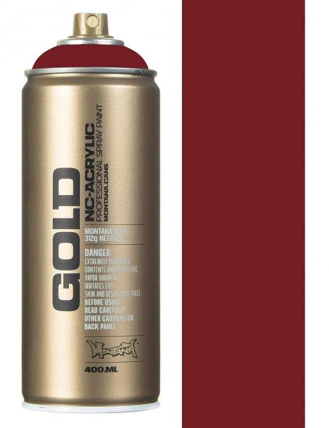 Montana Gold Royal Red Spray Paint - 400ml