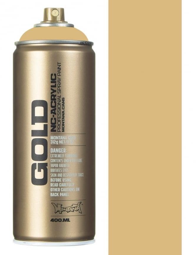 Montana Gold Sahara Beige Spray Paint - 400ml