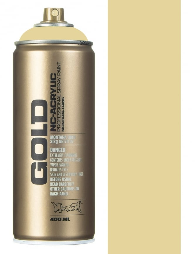 Montana Gold Sahara Yellow Spray Paint - 400ml