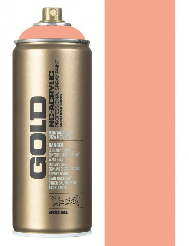 Montana Gold Salmon Spray Paint - 400ml